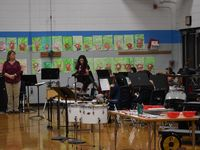 Sheboygan Area School District Lincoln-Erdman Elementary School. A music concert at Lincoln-Erdman Elementary School.